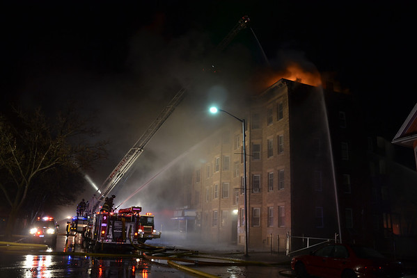 Springfield, MA 2nd Alarm 2972 Main St. 4/20/13
