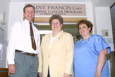 Bristol Hospital - Cancer Department Staff - July 28, 2003