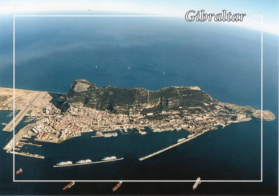 Gibraltar With Ships