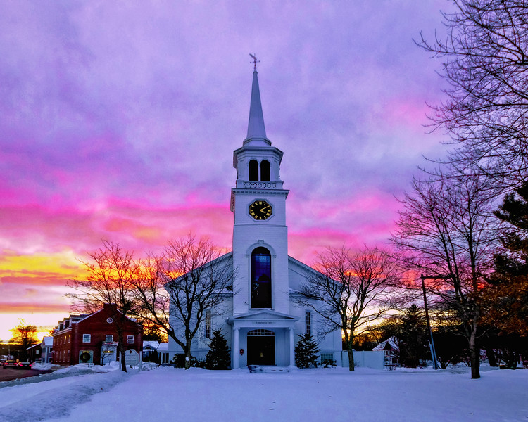 Pepperell church at Sunsetfb.jpg