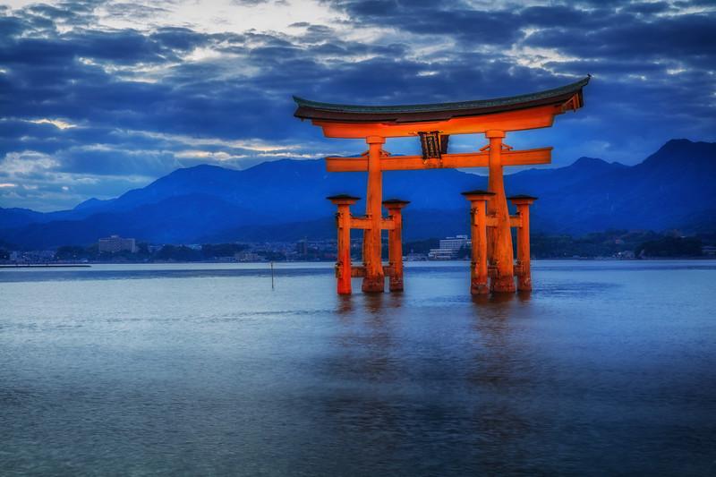 Floating shrine of Miyajima Island