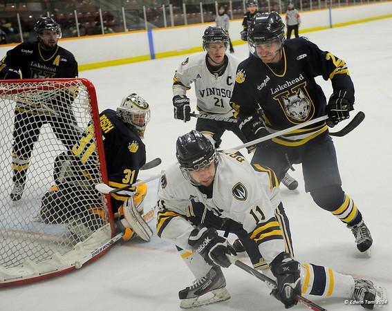 Lancers MHockey January 25, 2014