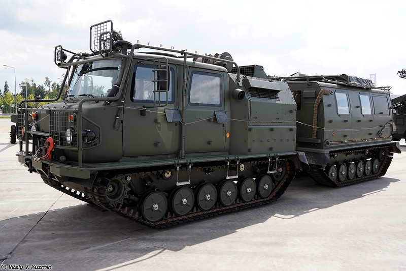Двухзвенный гусеничный транспортер ГАЗ-3344-20 (GAZ-3344-20 tracked transporter)