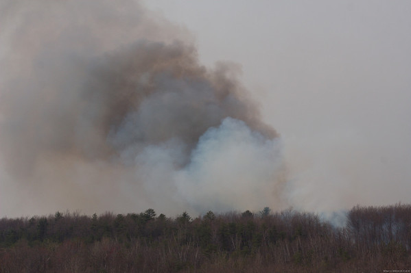 Wildfire, Butler Twp. Schuylkill County 4/19/08