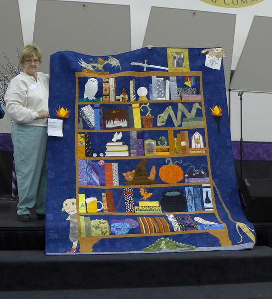Viewers Choice winner - quilt by Eileen Gioia