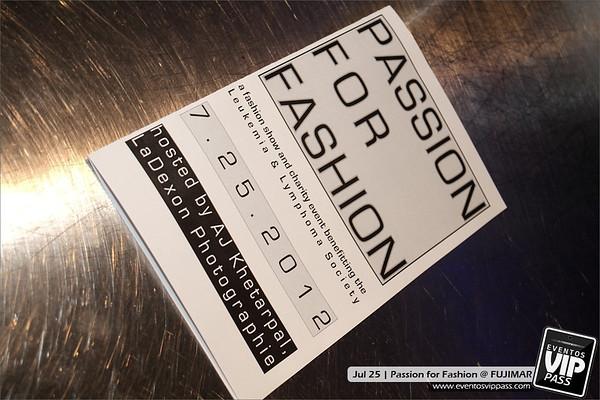FUJIMAR - Passion for Fashion | Wed, Jul 25