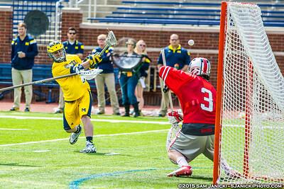 4-12-15 Michigan Men's Lacrosse Vs Ohio State