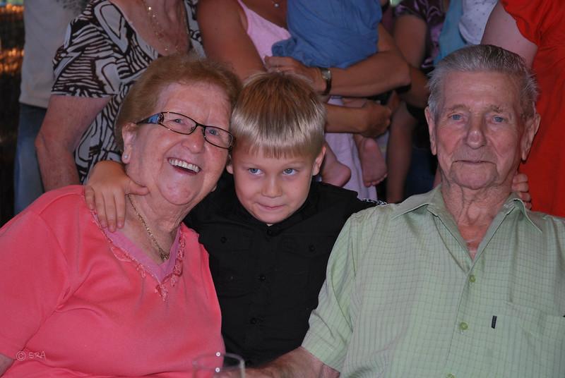 Grandma, Isaac & Grandpa