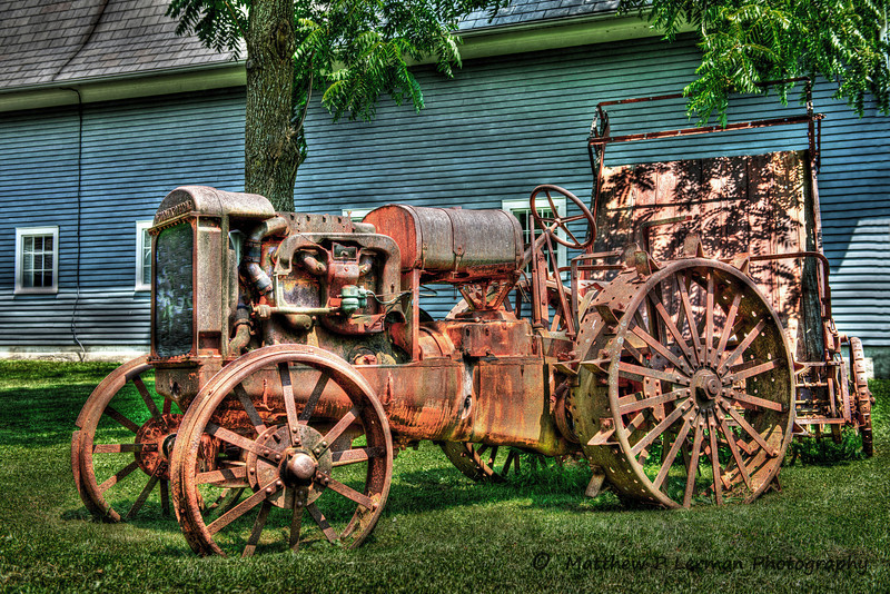 Vintage Tractor in Mettowee Valley, VT  #467