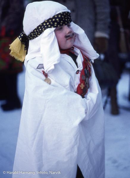 Bilde fra Vinterfestuka, ikke klart årstall. Det kan ha vært tidlig 80-tall.