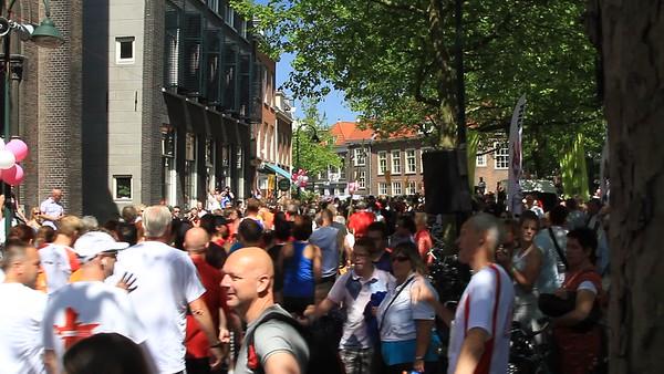 Sport hardlopen Delft