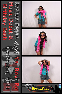 Roshon Fegan's Birthday and EP Release Party