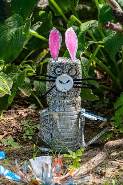 Recycled Fantasy Garden