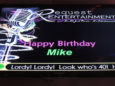 Mike's 40th Birthday Bash