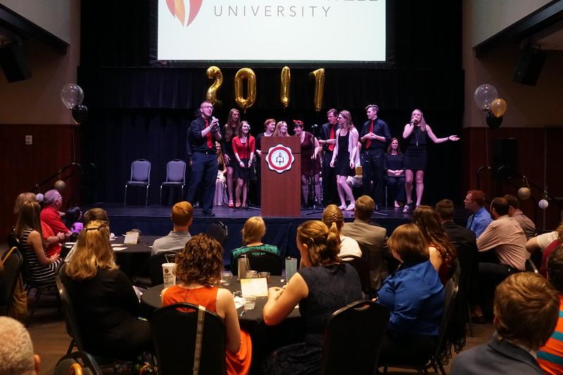 Senior Pinning Ceremony April 30th, 2017