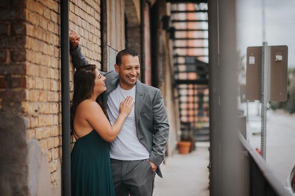 Roberta & Alex are engaged!