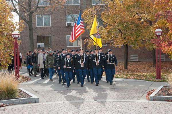 11/6/14 Veteran's Day Silent March