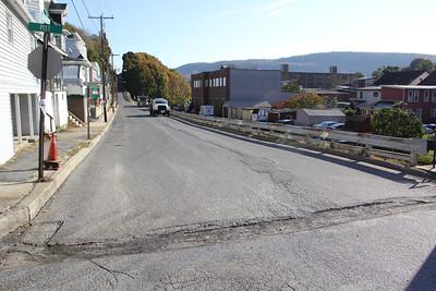 Paving Project, Lafayette Street, Nescopec St, Tamaqua (10-28-2014)