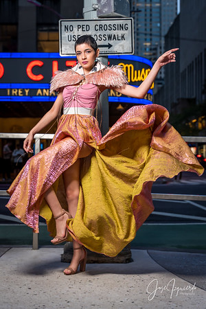 @tinyworldmodel New York Fashion Week Photoshoots September 2021
