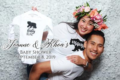 Joanne & Khoa's Baby Shower - 9/8/2019