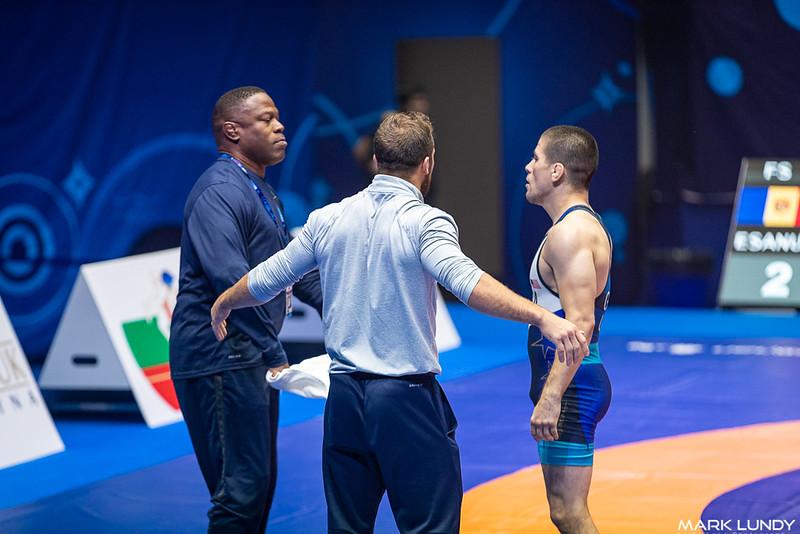 Cons. Round 2: Tyler Lee Graff (United States) over Mihai Esanu (Moldova)  •  TF 13-2 - 2019 World Championships