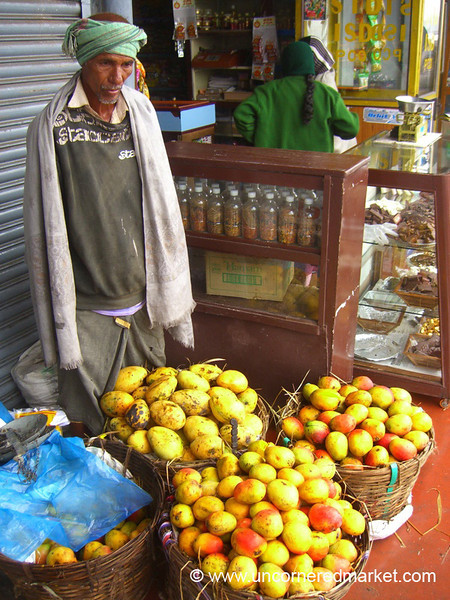 Mangos for Sale - Kodaikanal, India