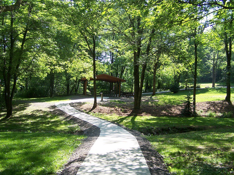 Accwaaible Paths at Blue Spruce