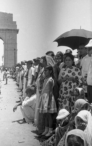 Waiting for Nehru, 28 May, 1964.