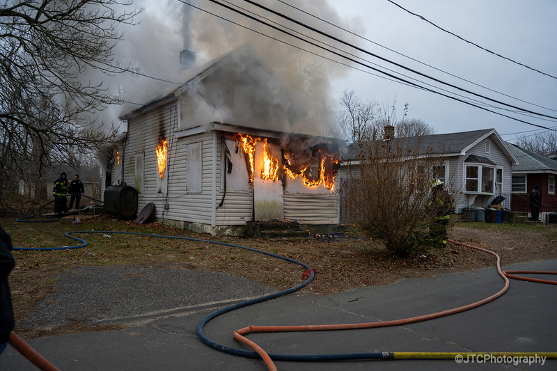 North Amityville Working Fire 01-18-2020