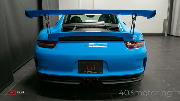 '16 911 GT3 RS - Riviera Blue