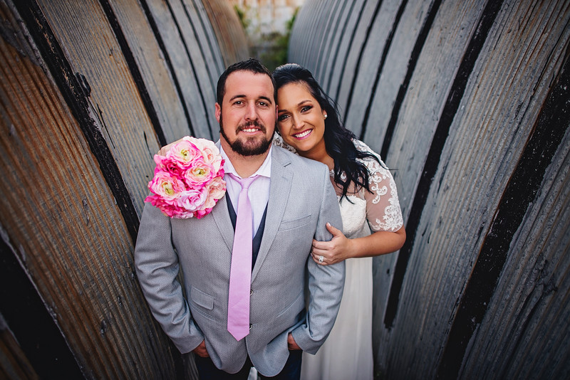 Brad & Amy Wedding Portraits