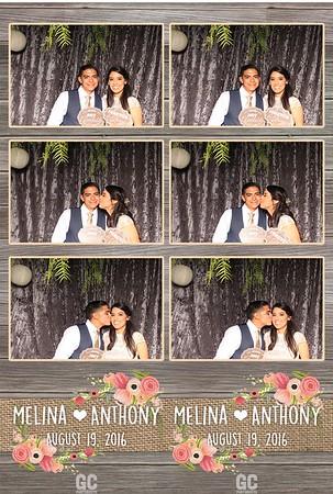 Melina & Anthony's Wedding