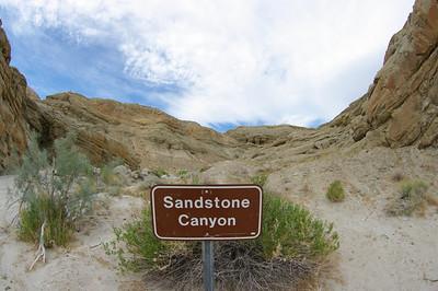 Sandstone Canyon & Fish Creek with Fisheye - May 2009