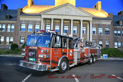 Tower  Ladder 2  Port Chester N.Y.