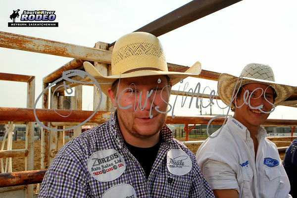 Souris River Rodeo 2014 - Saturday