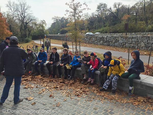 20181118 Fort Myers, VA - Pack 1229 Fall Hike