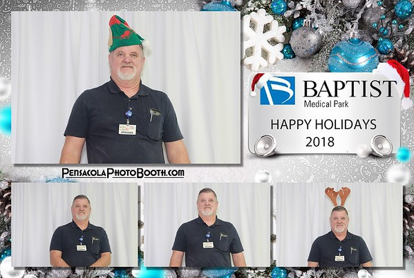 Baptist Medical Park Holiday Party 12-13-2018