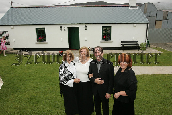 Pictured are Brigid Brady, Karen Lynch, Paul Redmond and Maura McKevitt at Teach Mallon Meigh who held an invitation only day on Friday last. Teach Mallon will also feature in RTE's Nationwide programme within the coming weeks. Picture Peter Clarke. 07W33N18
