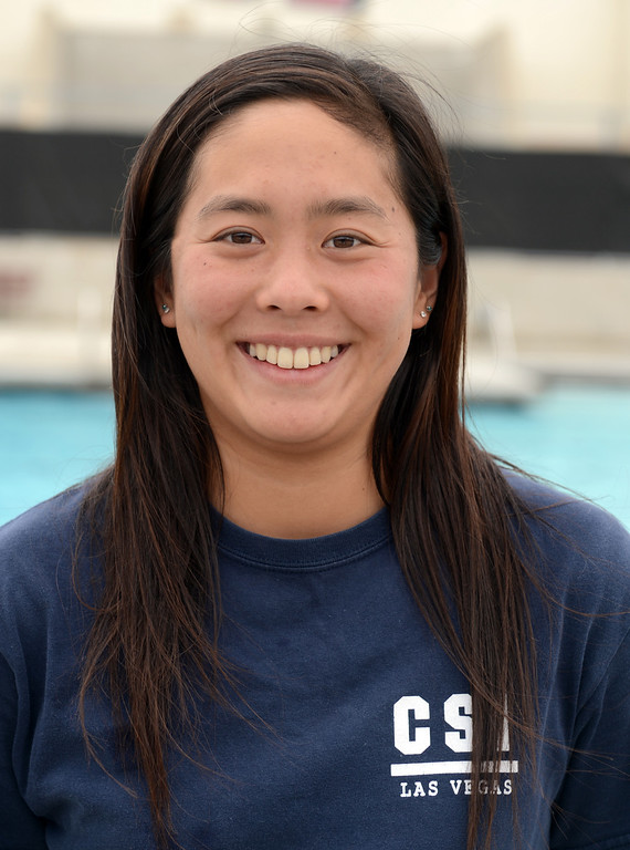 . Ashley Tse has been named to The Sun\'s All-Area Swim Team. Tse is a senior at Ayala High School. Thomas Cordova staff The Sun.