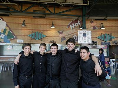 Mar 21, 2014 - Trumpet Quintet @ Storm Baseball Stadium