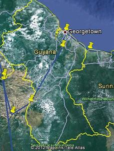 Guyana route