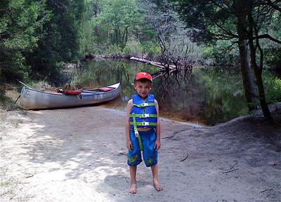 Pines Canoeing Memorial Day 09
