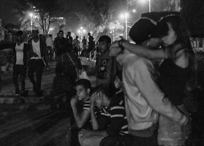 Teenagers in Havana