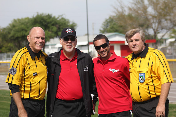 Coach Ray Terns & Refs from All Stars