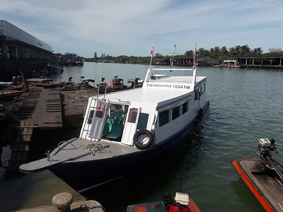 Testing new boat from Kawthaung to Ranong!
