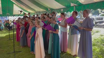Menonite School Choir Montezuma, GA