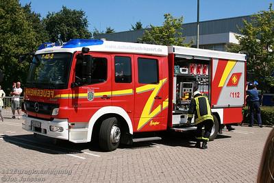 Tag der offenen Tür Feuerwehr Susteren (NL)