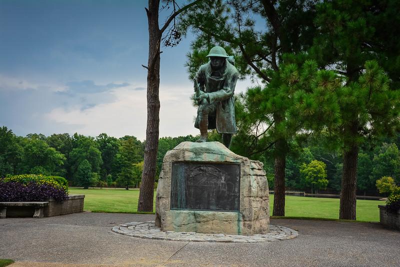 veterans plaza overton park memphis