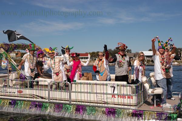 Pirates of Lost Treasure Mardi Gras Flotilla- 2007