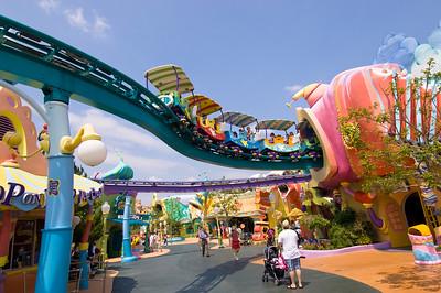 Seuss Landing, Universal Studios, Orlando, Florida, United States of America